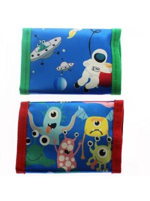 Wholesale Children's Velcro Wallets - Assorted Designs