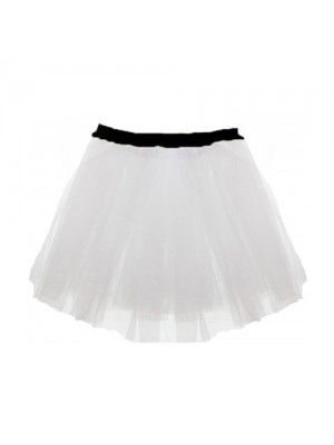White Tutus Skirt One Size