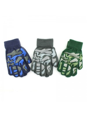 Children's Thermal Magic Gloves (Camo) - Assorted Colours