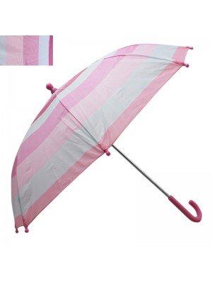 Childrens Striped Umbrellas - Assorted Colours