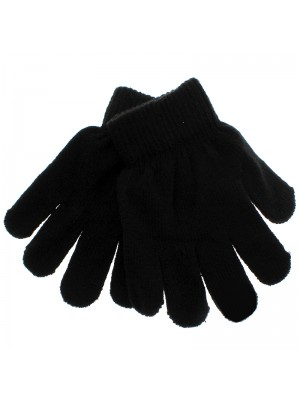 Childrens Thermal Magic Gloves - Black