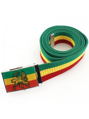 Childrens Rasta Design Canvas Belts