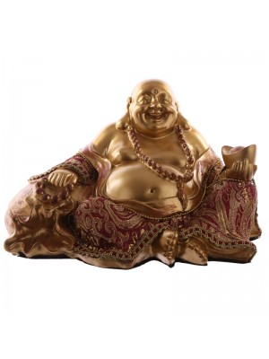 Chinese Buddha Laughing Figurine - 20cm