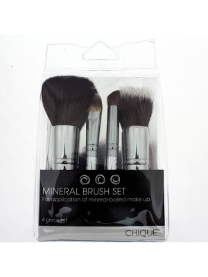 Wholesale 4pc Mineral Brush Set
