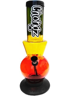 """Wholesale Chongz Acrylic Bong """"Numb Nutz"""" Waterpipe - Assorted Colours (12 Inch)"""