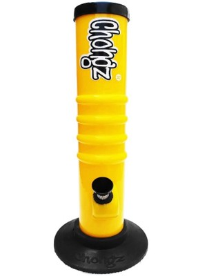 """Wholesale Chongz Acrylic Bong """"Don't Ffffit"""" Waterpipe - Assorted Colours (12 Inch)"""