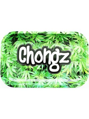 Wholesale Chongz Leaves Design Rolling Tray - 27.5 x 17.5 cm