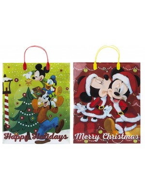 Wholesale Disney Inspired Large Christmas Gift Bags - Assorted