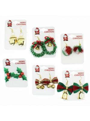 Christmas Earrings - Assorted Designs