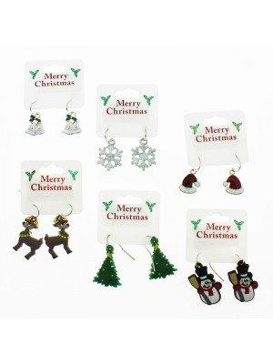 Christmas Earrings - Assorted