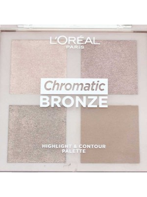 Wholesale Loreal Paris Chromatic Bronze Highlight & Contour Palette-10g