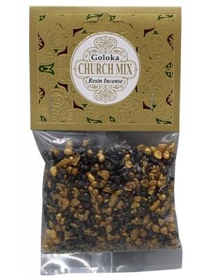 Goloka Resin Incense - Church Mix
