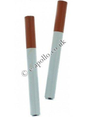 White Metal Pipe Tube (8cm)