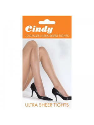 Cindy 10 Denier Ultra Sheer Tights - M