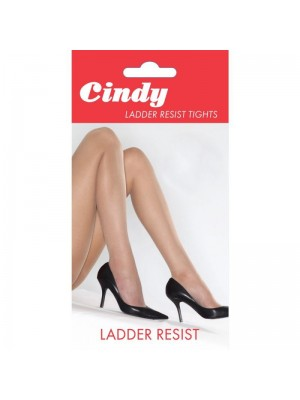 Cindy's 20 Denier Ladder Resist Tights - Large