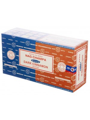 Wholesale Satya incense sticks - Nag Champa & Dark Cinnamon