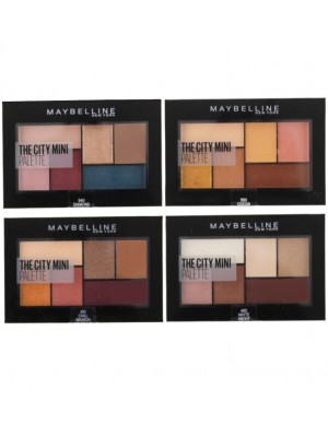 Wholesale Maybelline The City Mini Eyeshadow Palette - Assorted