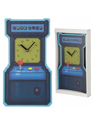 Wholesale Game Over Arcade Game Shaped Picture Wall Clock