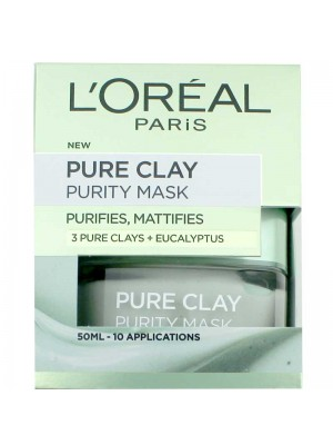 Wholesale Loreal Paris Pure Clay Purity Mask-50ml
