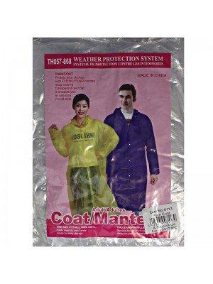 Emergency Transparent Rain Coat - One Size