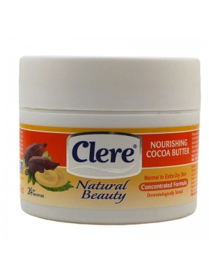 Clere Natural Beauty Nourishing Cocoa Butter Body Cream- 250ml