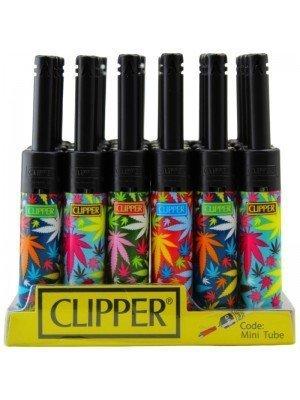 Wholesale Clipper Multi-Leaves Mini Tube Utility Lighter