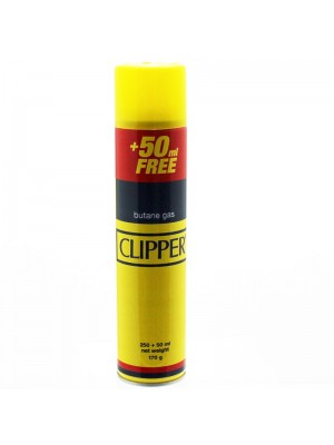 Clipper Universal Gas Lighter Refill- Gas Fuel Butane 300ml