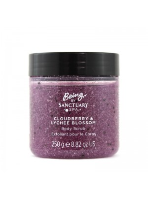 Wholesale Sanctuary Spa Cloudberry & Lychee Blossom Body Scrub
