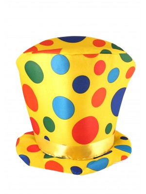 Clown Hat - Yellow
