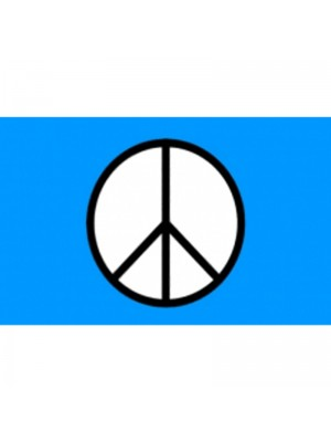 CND Peace Flag - 5ft x 3ft