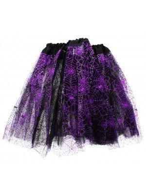 Cobweb Design 3 Layer Tutu Skirt