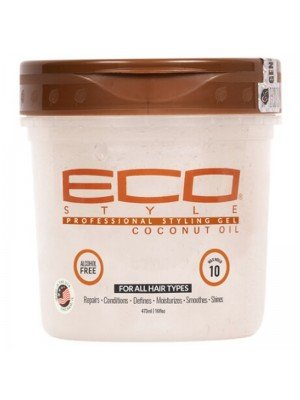 Wholesale Eco Professional Styling Gel - Coconut Oil (16 oz)