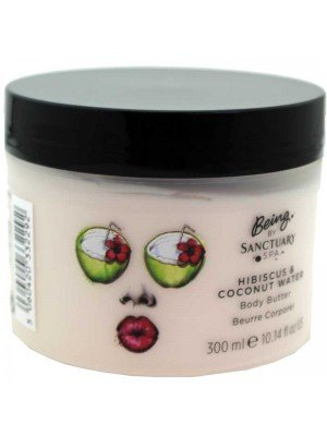 Wholesale Sanctuary Spa Hibiscus & Coconut Water Body Butter-300ml