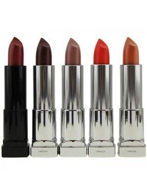 Wholesale Maybelline Color Sensational Matte Lipsticks - Assorted Colours