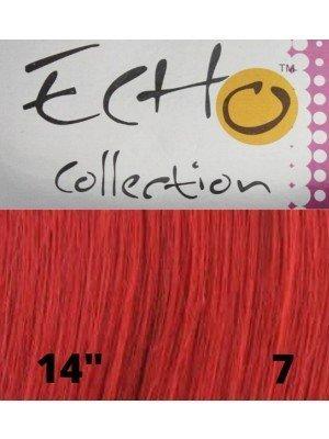 """Echo Human Hair Extensions - European Weave - Colour: 7 (14"""")"""