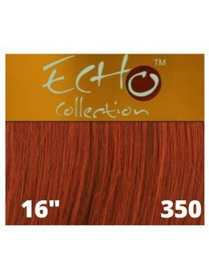 """Echo Human Hair Extensions - European Weave - Colour: 350 (16"""")"""