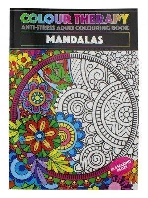 Wholesale Colour Therapy A4 Colouring Book - Mandalas Design