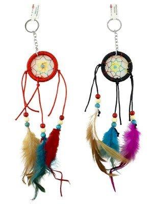 Wholesale Colourful Dreamcatcher - Assorted Colours