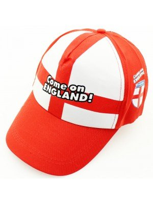 Come On England World Cup Baseball Caps Assorted