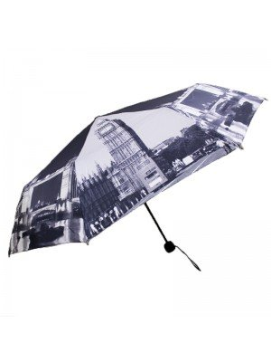 Compact Umbrella- London City Design
