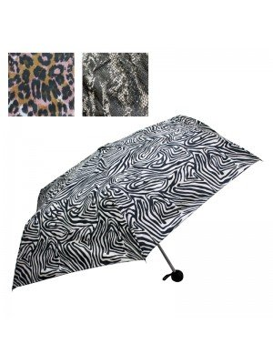 Compact Umbrellas (Animal Print) - Assorted Designs