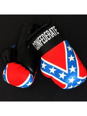 Mini Boxing Gloves - Confederate