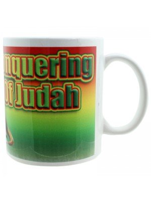 Conquering Lion of Judah New Bone China Mug