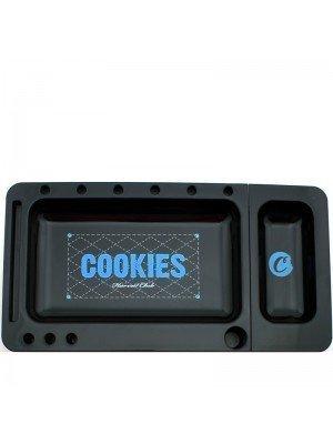 Cookies ''Harvest Club'' Plastic Rolling Tray- Black