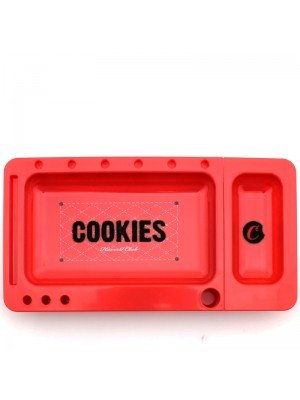 Cookies ''Harvest Club'' Plastic Rolling Tray- Red