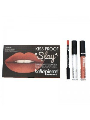 Kiss Proof Slay Lip Collection - Coral Stone