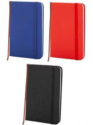 Wholesale Cover Lined Notebooks - Assorted Colours