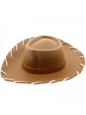 Wholesale Children's Cowboy Eva Hat Brown