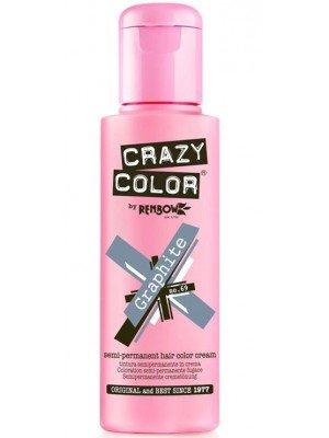 Crazy Color Semi-Permanent Hair Color - Graphite