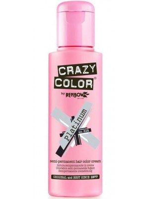 Crazy Color Semi-Permanent Hair Color - Platinum